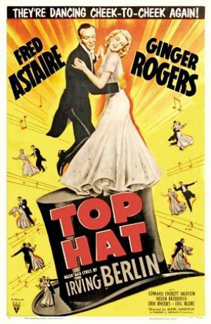 Films with fashion influence - 1935 Top Hat poster.jpg